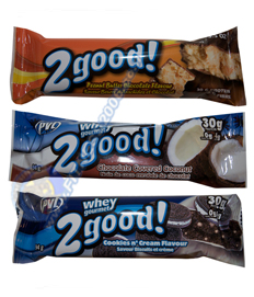 חטיף חלבון - Whey 2 Good Bars